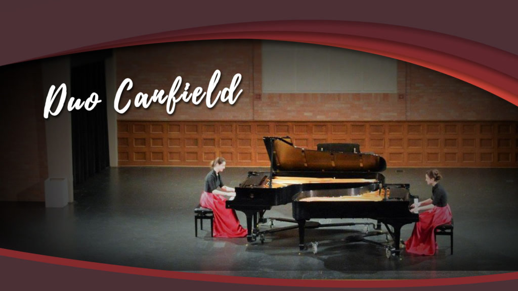 Duo Canfield Four Hands Piano CMM WRS